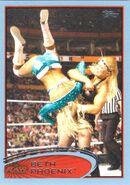 2012 WWE (Topps) Beth Phoenix 3