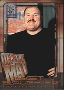 2002 WWF All Access (Fleer) Sgt. Slaughter 74