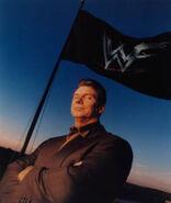 Vince wwf flag