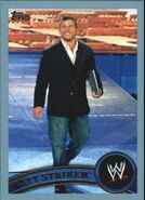 2011 WWE (Topps) Matt Striker 36