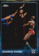 2015 Chrome WWE Wrestling Cards (Topps) Darren Young 20