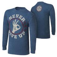 John Cena Never Give Up Long Sleeve T-Shirt