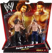 WWE Battle Packs 5 Carlito & Primo