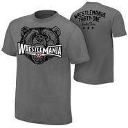 WrestleMania 31 Grizzly T-Shirt