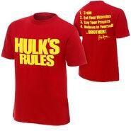 Hulk Hogan Hulk's Rules 30 T-Shirt