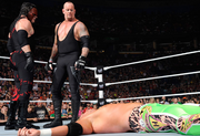 Undertaker and Kane Raw 1000