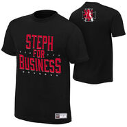 Stephanie McMahon Steph For Business T-Shirt