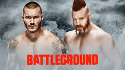 WWE Battleground 2015 - Orton v Sheamus
