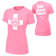 Antonio Cesaro Rise Above Cancer Pink women T-Shirt