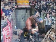 Royal Rumble 2000 Rock inteferes