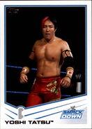 2013 WWE (Topps) Yoshi Tatsu 84