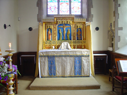 Slipper chapel altar