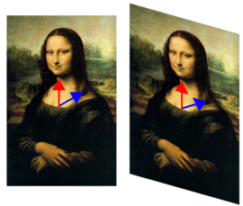 Mona Lisa with eigenvector