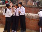 School girls in Bhaktapur