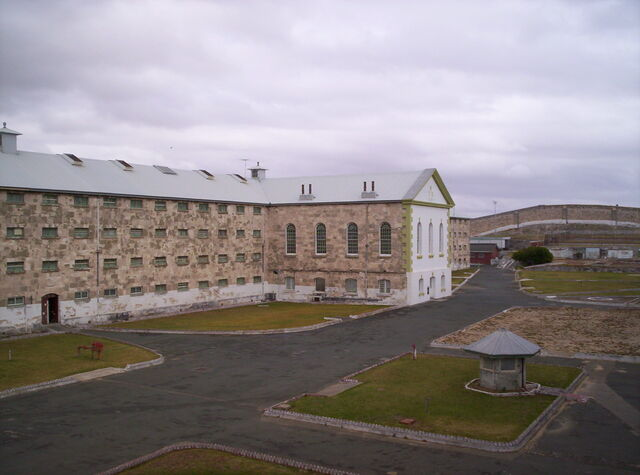 File:Fremantle prison main cellblock.JPG
