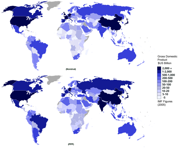 File:Gdp nominal and ppp 2005 world map single colour.png