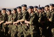 Russian paratroopers in Kazakhstan