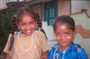 Tamil girls in Tiruvanamalai