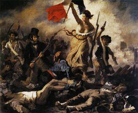 Eugène Delacroix - La liberté guidant le peuple