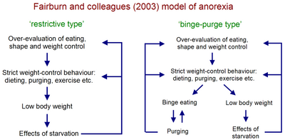 Fairburn et al Anorexia Model