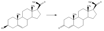 Reaction-Pregnenolone-Progesterone