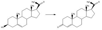 Reaction-Pregnenolone-Progesterone