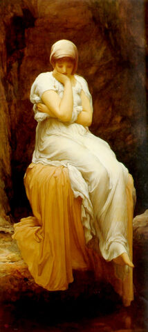 File:Frederick Leighton - Solitude.jpg