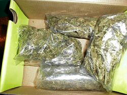 4 ounces of marijuana