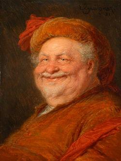 Eduard von Grützner Falstaff