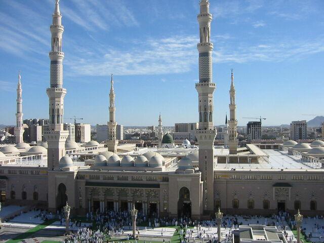 File:Masjid Nabawi. Medina, Saudi Arabia.jpg