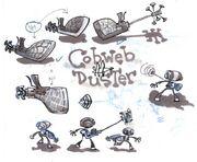 Cobweb Duster Art