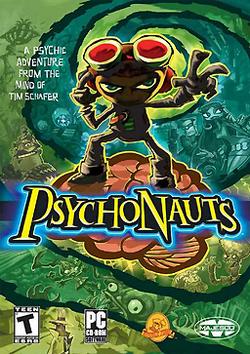 Psychonauts Box