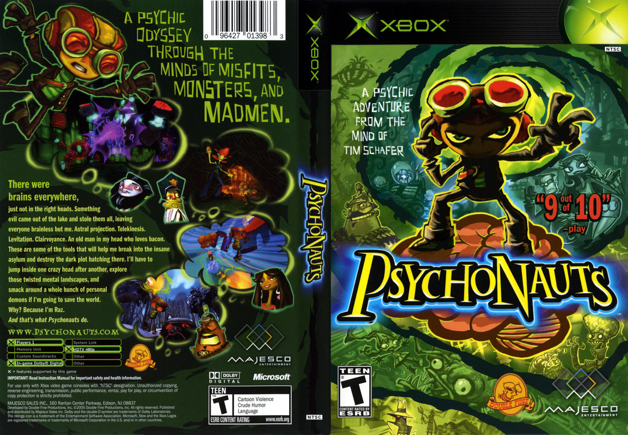 Psychonauts Game Room Waterloo