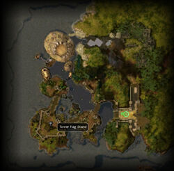 Uncharted Isle map