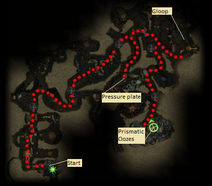 Ooze pit route