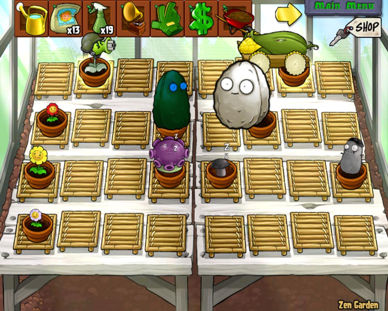 Image zen garden png plants vs zombies character for Jardin zen plantas vs zombies