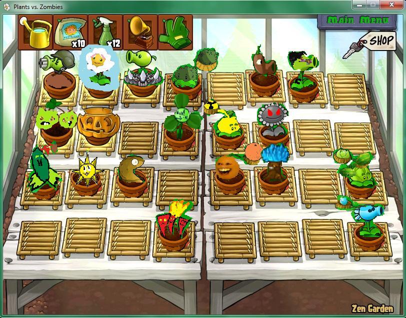 Image creature creator zen plants vs for Jardin zen plantas vs zombies