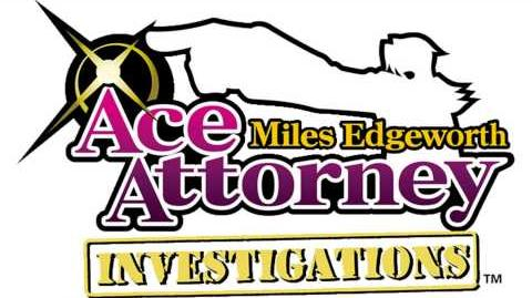 Pursuit ~ Lying Coldly - Ace Attorney Investigations Miles Edgeworth Music Extended