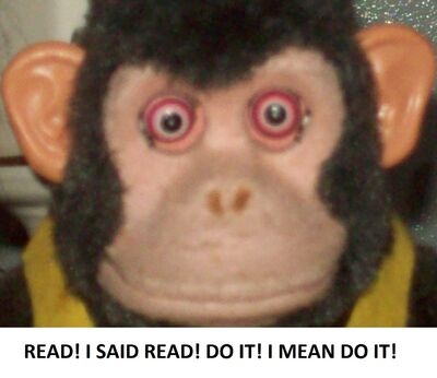 MONKEY! Please Read!
