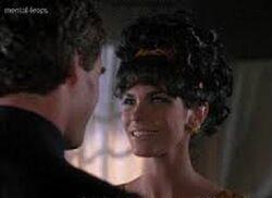 Terri Garber as Teresa Pacci with Sam as Don Geno