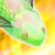 Emerald Fish Icon