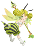 Honey (The Lily Fairy) transparent