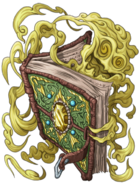 Wizard Book (Lightning) transparent