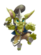 Thunder Goblin transparent