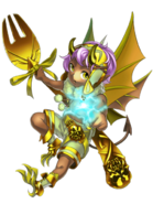 Elite Yellow Demon transparent