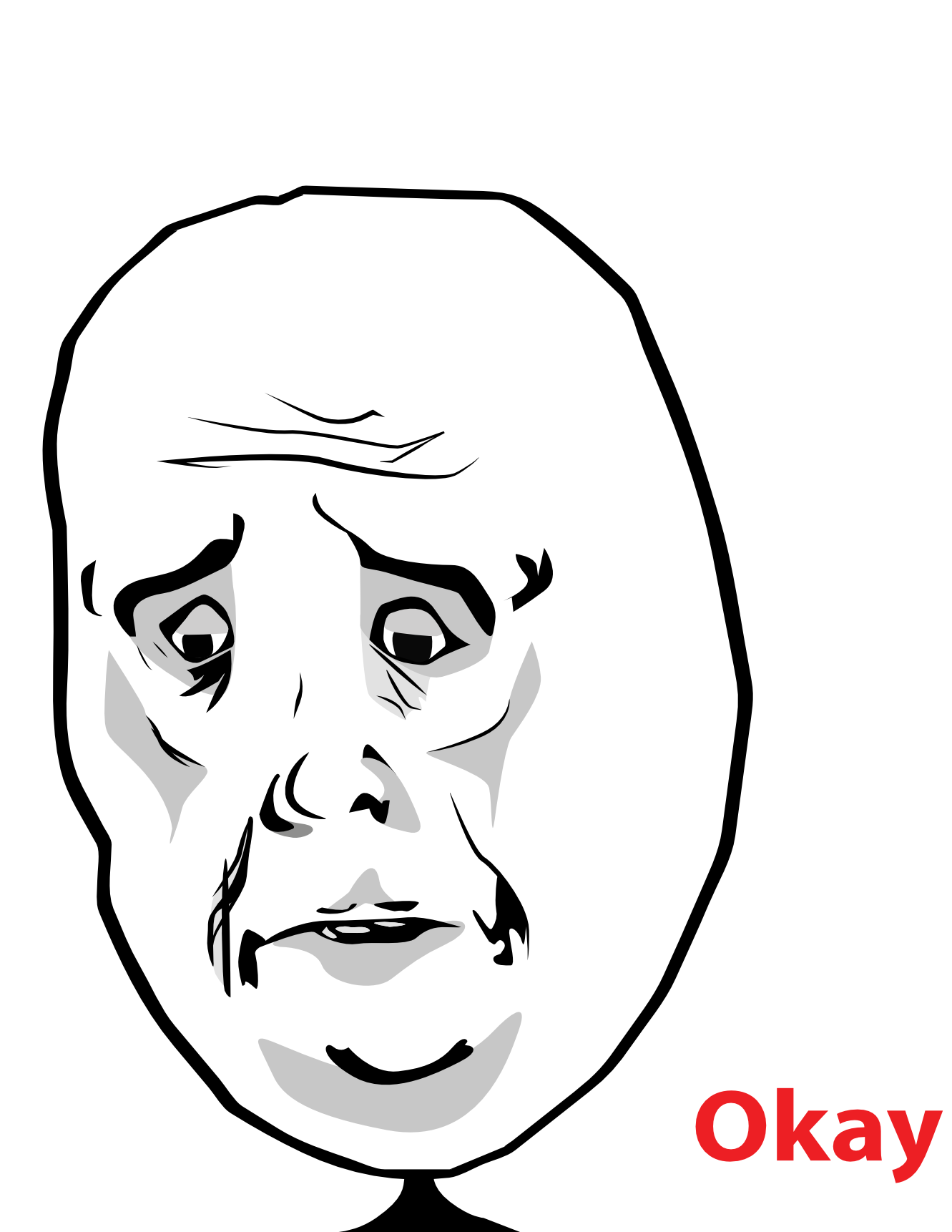 Funny Meme Face Png : Image famous characters troll face okay meme