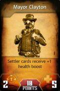 Mayor Clayton (Card)