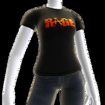 Black Rage Shirt W Prop
