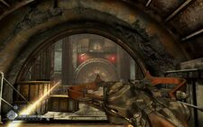 Rage Shrouded Bunker minigun nest