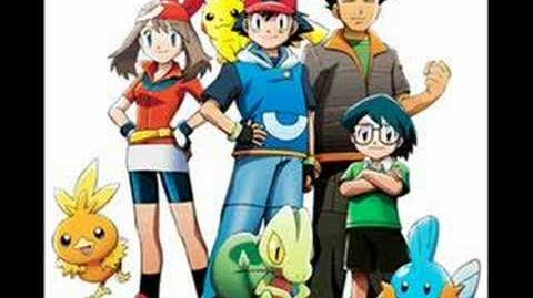 Pokemon Advance Opening - I Want to be a Hero
